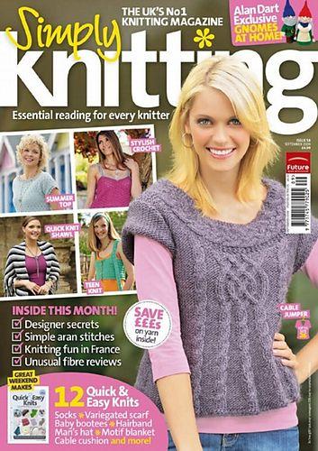 Ravelry: Simply Knitting 58, September 2009