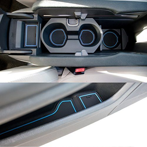 For 2016-2020 Honda Civic 10Th Carbon Style Armrest Box Cover Center Console