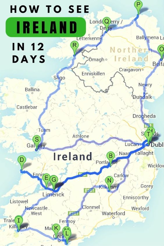 The Ultimate Irish Road Trip Guide: How To See Ireland In ...