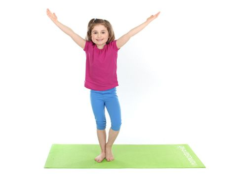 tree pose vriksasana  kids yoga poses  exercises