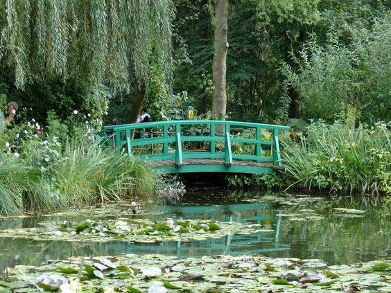 Jardim de Claude Monet, em Giverny, na França