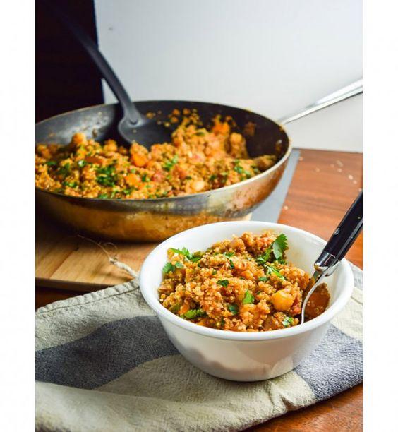 One Pot Pasta: Quinoa aux légumes façon tandoori
