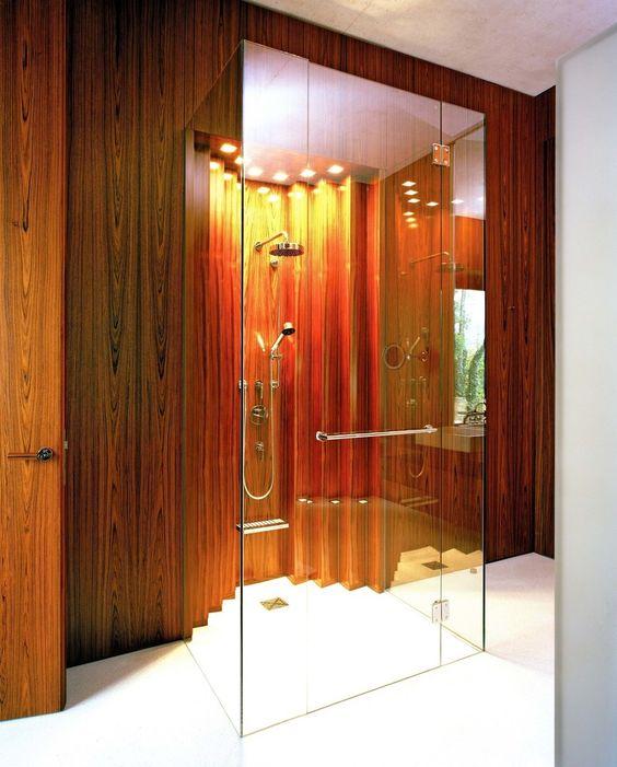 Privat Haus St. Gilgen, Austria : Moderne Badezimmer von SilvestrinDesign