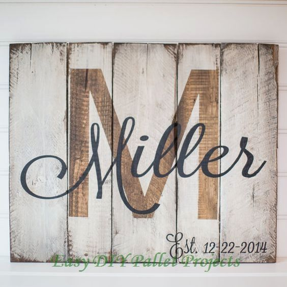 20 Diy Ideas For Pallet Signs In 2020 Pallet Art Pallet Crafts Wooden Signs