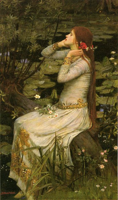 Romanticism | this painting waterhouse by john william is a romanticism painting: