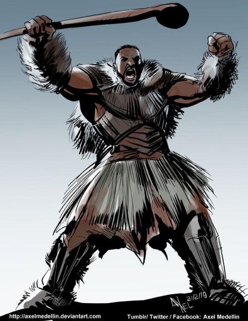 M Baku Axel Emedellin Man Ape Marvel Black Panther Art Black Panther Marvel