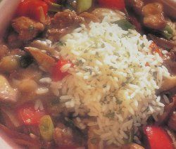 Grandma's Chinese Chicken Stew | AllFreeCasseroleRecipes.com