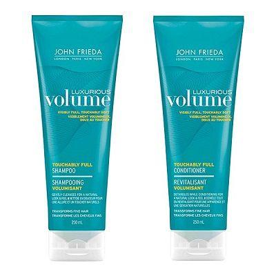Een absolute topper! John Frieda Luxurious Volume Thickening - Shampoo & Conditioner € 9,99 per stuk www.tipsvoorhaar.nl/haarmerken/john-frieda