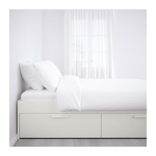 Brimnes Bed Frame With Storage White Luroy Queen Ikea Bed Frame With Storage Bed Frame Brimnes Bed