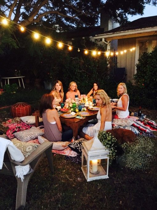 Garden parties, Bohemian and Parties on Pinterest