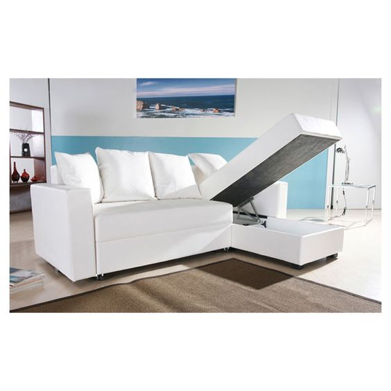 Pinterest o the worlds catalog of ideas for Sectional sofa that converts to bed