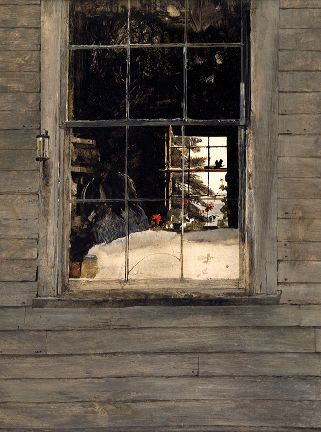 Geraniums - Andrew Wyeth