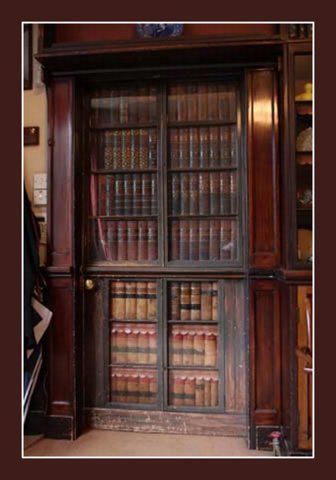 Door Disguised as a Bookcase | Content in a Cottage