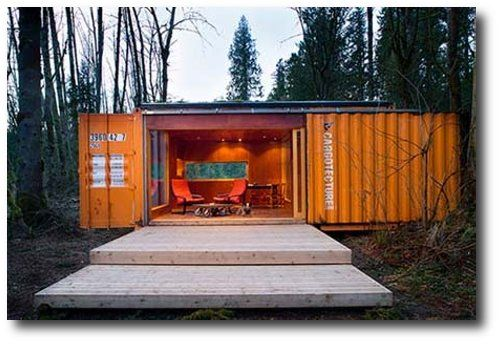 Shipping containers steel shipping container homes survival homes end days off grid homes - Off the grid shipping container homes ...
