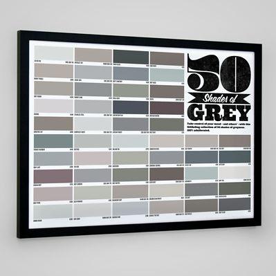 Muy fan del póster de las 50 sombras de Grey ;-)