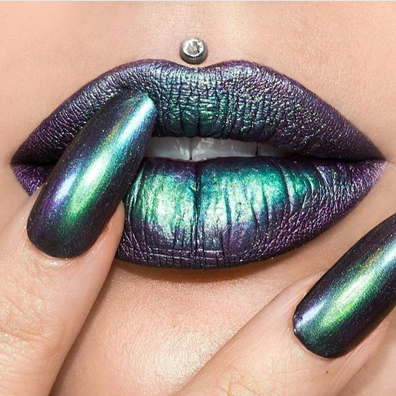 Gorgeous lipstick lip makeup ideas