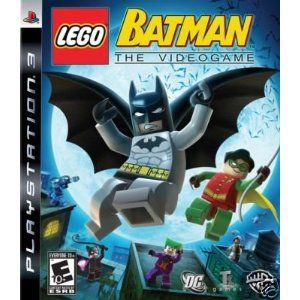 LEGO Batman The Video Game PS3 PlayStation 3 Game NEW