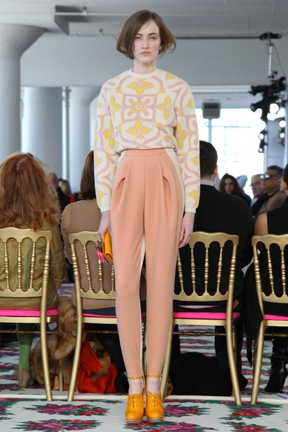 Delpozo RTW Fall 2013 - Slideshow - Runway, Fashion Week, Reviews and Slideshows - WWD.com