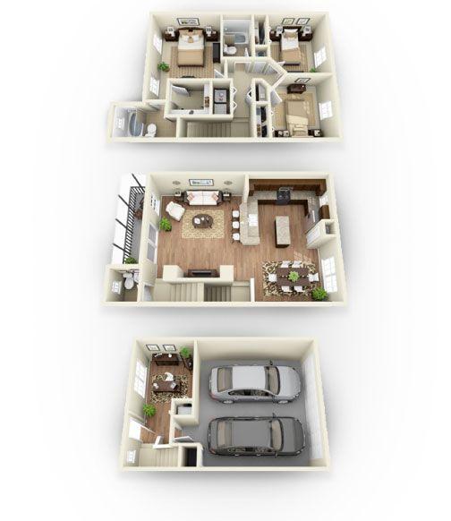 Seneca Bay Apartments: Luxury Apartment Floor Plans