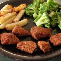 Oven-Baked, Teff-Coated Chicken Nugget | Green Lite Bites