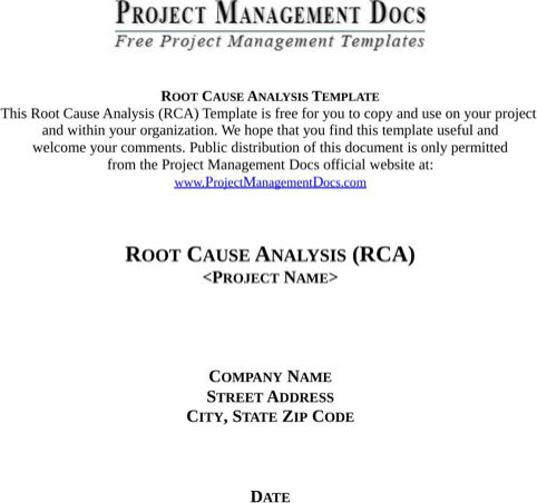 Competitive Analysis Template Templates\Forms Pinterest - root cause analysis template