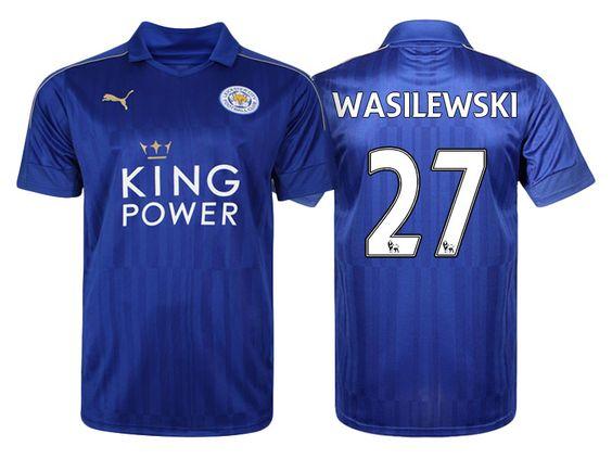 Leicester City #27 Marcin Wasilewski 2016-17 Home Short Shirt