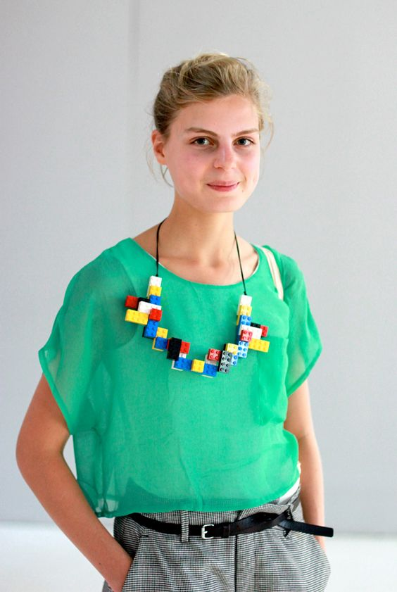 DIY Idea: Lego necklace?