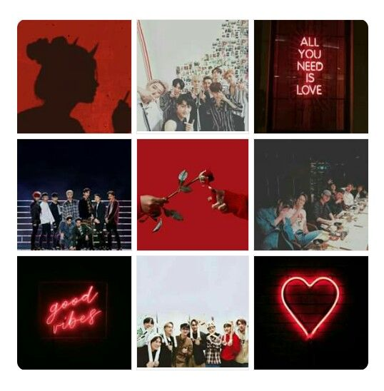 Exo Red Aesthetic Facebook Featured Photos Ideas Facebook Featured Photos Facebook Features Red Aesthetic