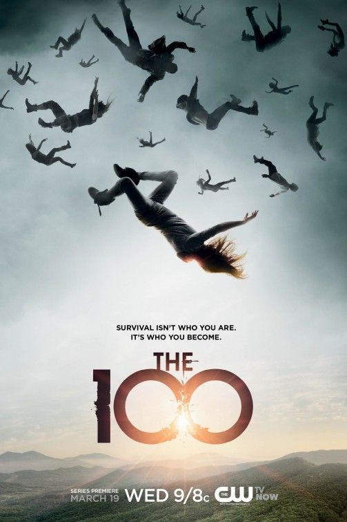 Image result for the 100 tv poster