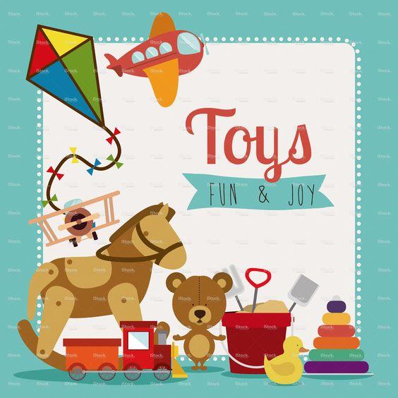 Brinquedos vetor