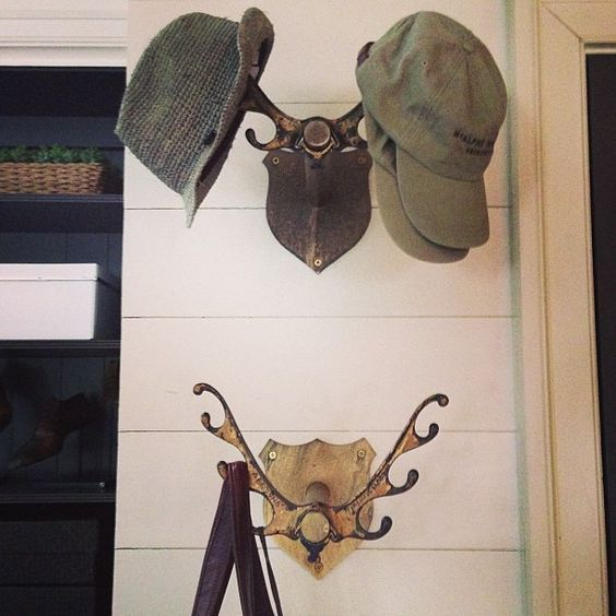Photo by mcalpinetankersley lake house coat hooks
