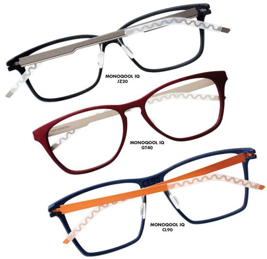 Monoqool, the Denmark-based eyewear brand available from Studio Optyx, introduces the IQ Series featuring a patented screwless hinge, polyam...