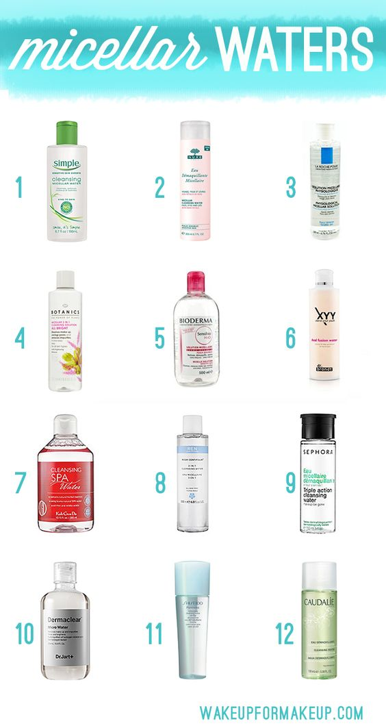 What are micellar waters and why do I need one? 12 great picks via Wake Up For Makeup