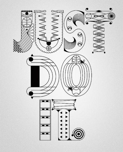 Designspiration — NIKE x Type illustrations 2010 on the ...