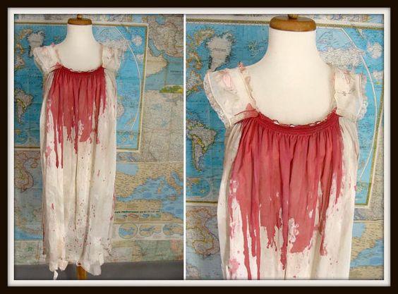 Red dress zombie 00