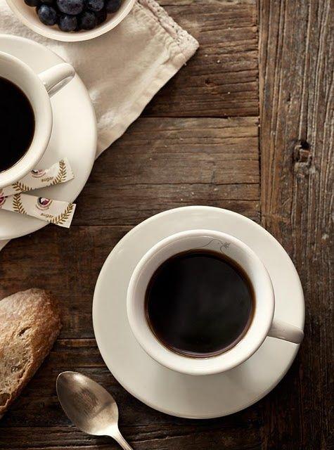 E depois do almoço, só tomando um cafézinho para espantar aquela preguicinha que bate.