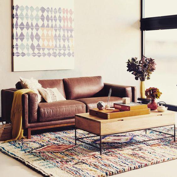 Chọn sofa da thật tphcm dựa theo tiêu chí nào