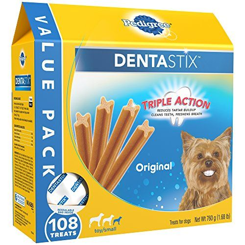 Pedigree Dentastix Toy Small Canine Dental Treats Unique Taste