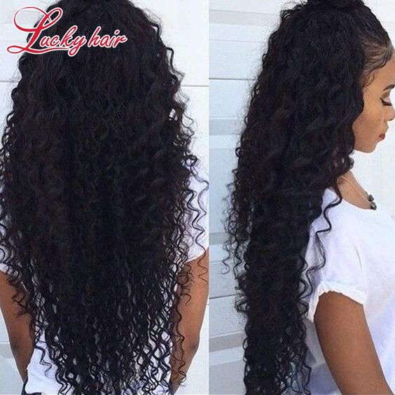 Cheap hair extension human hair, Buy Quality hair false directly from China hair cutting blade sizes Suppliers:  Her Hair Hair Extensions 6A Unprocessed Mongolian Kinky Curly Hair 3pcs/lot Meches Bresiliennes Goldrose Beauty Kinky C