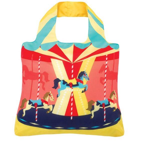 Eco-Friendly Reusable Bag, Carousel