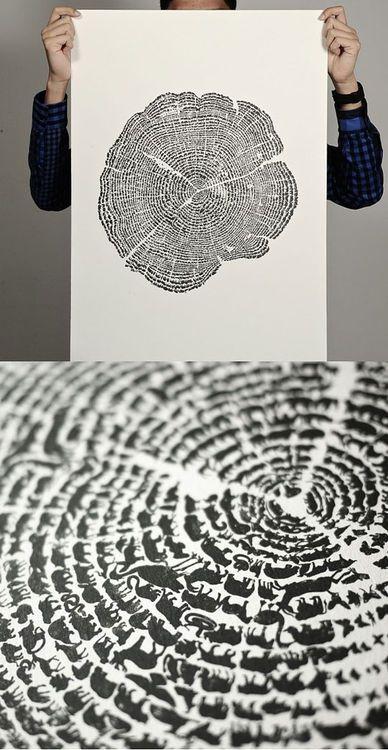 tree of life... - (cross section)(illustration)(animals)