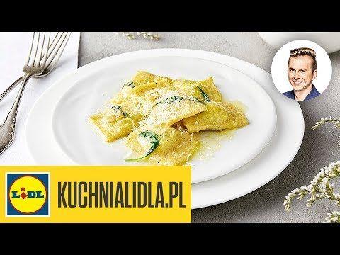 Ravioli Z Ricotta I Parmezanem Karol Okrasa Kuchnia Lidla Food Recipes Ravioli