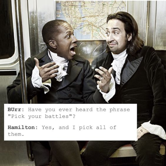 14. 21 'Hamilton' Memes That Continue To Give Us Life