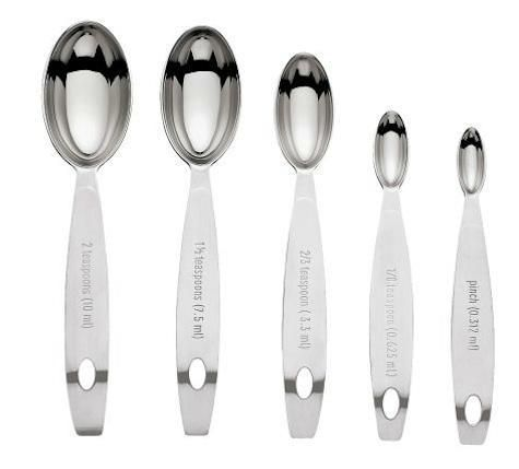Cuisipro Stainless Steel Odd Sizes Measuring Spoons