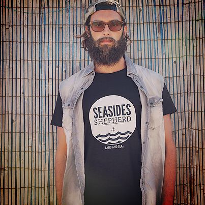 Black Man Seaside T-Shirt #tshirt #fashion #swag #graphic #surf #apparel #seaside #cloathing #sea