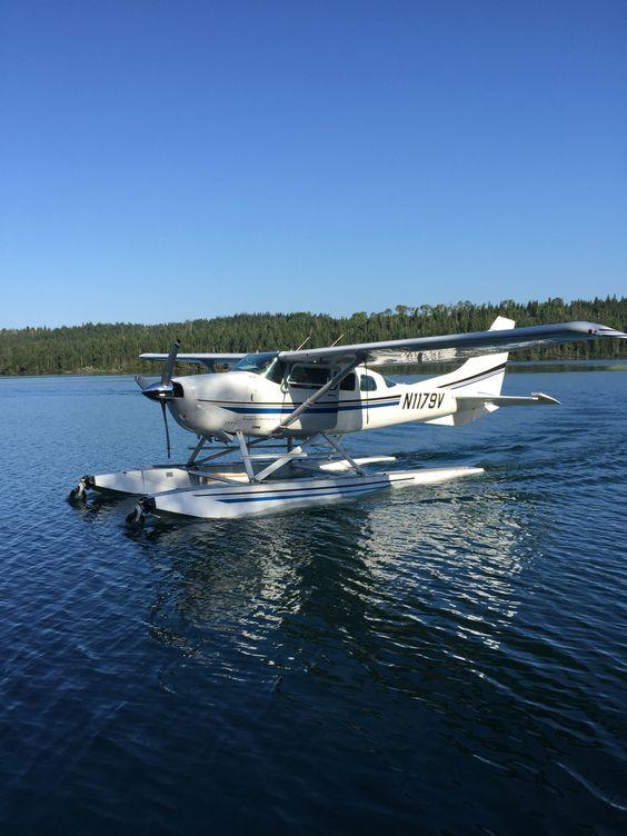 Sea plane at Isle Royale National Park, Michigan
