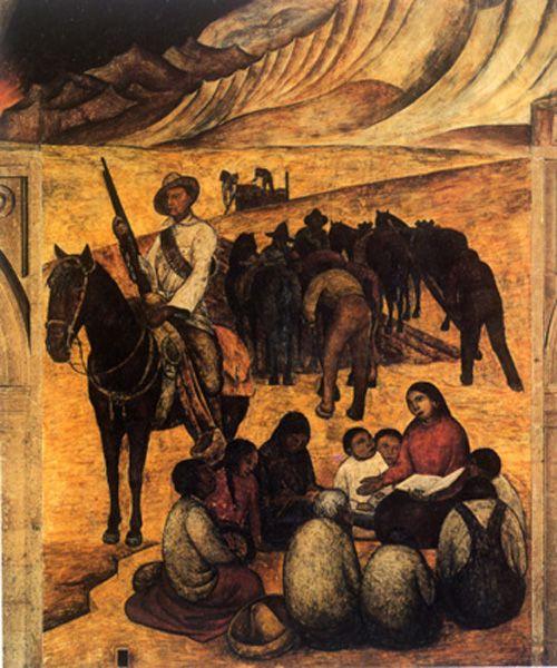 La maestra rural 1932 diego rivera 1886 1957 for Arte mural mexicano