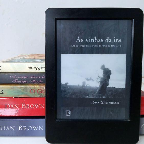 """Resenha de um dos melhores livros que eu já li na minha vida! """"As vinhas da ira"""" do John Steinbeck é simplesmente transformador!"""