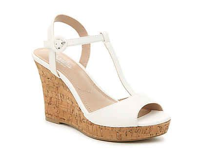 wedge sandals, Gold wedge shoes, Womens