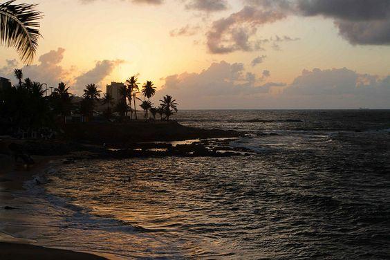 Nascer do sol em Salvador!!!